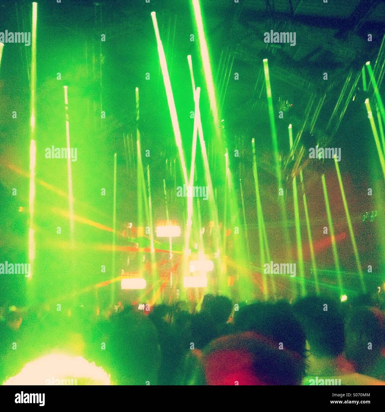 Alien music - Stock Image