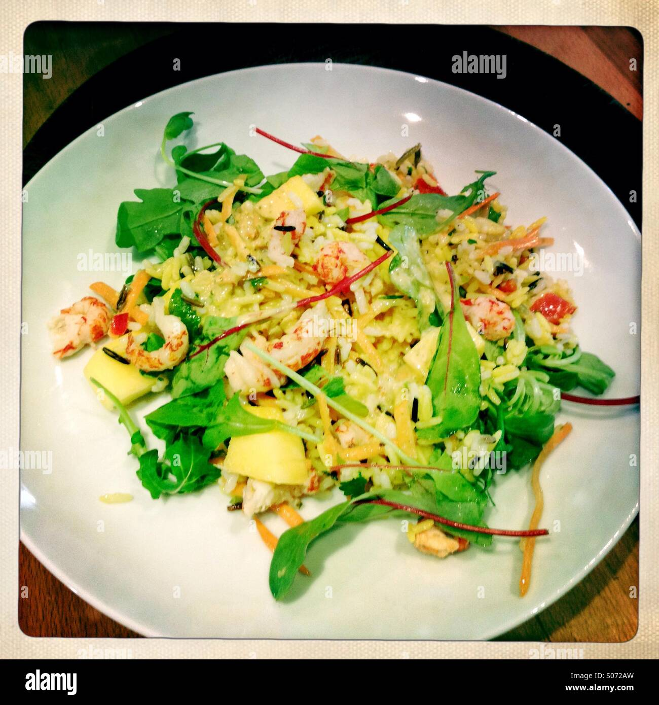 Crayfish Salad High Resolution Stock Photography And Images Alamy
