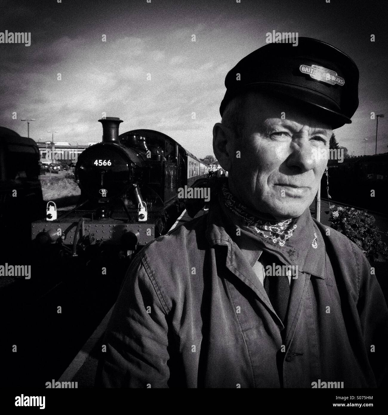 Severn Valley railway Kidderminster - Stock Image