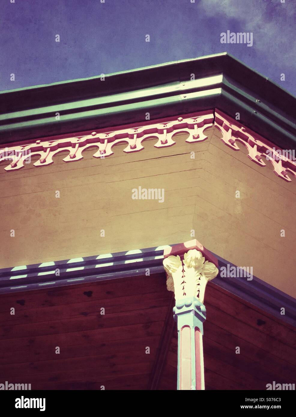 Vintage bandstand - Stock Image