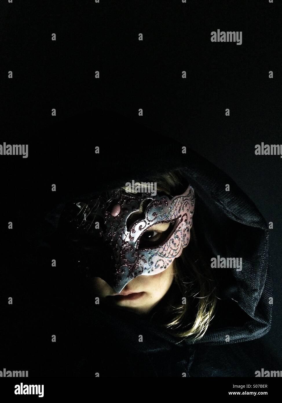 Masked - Stock Image