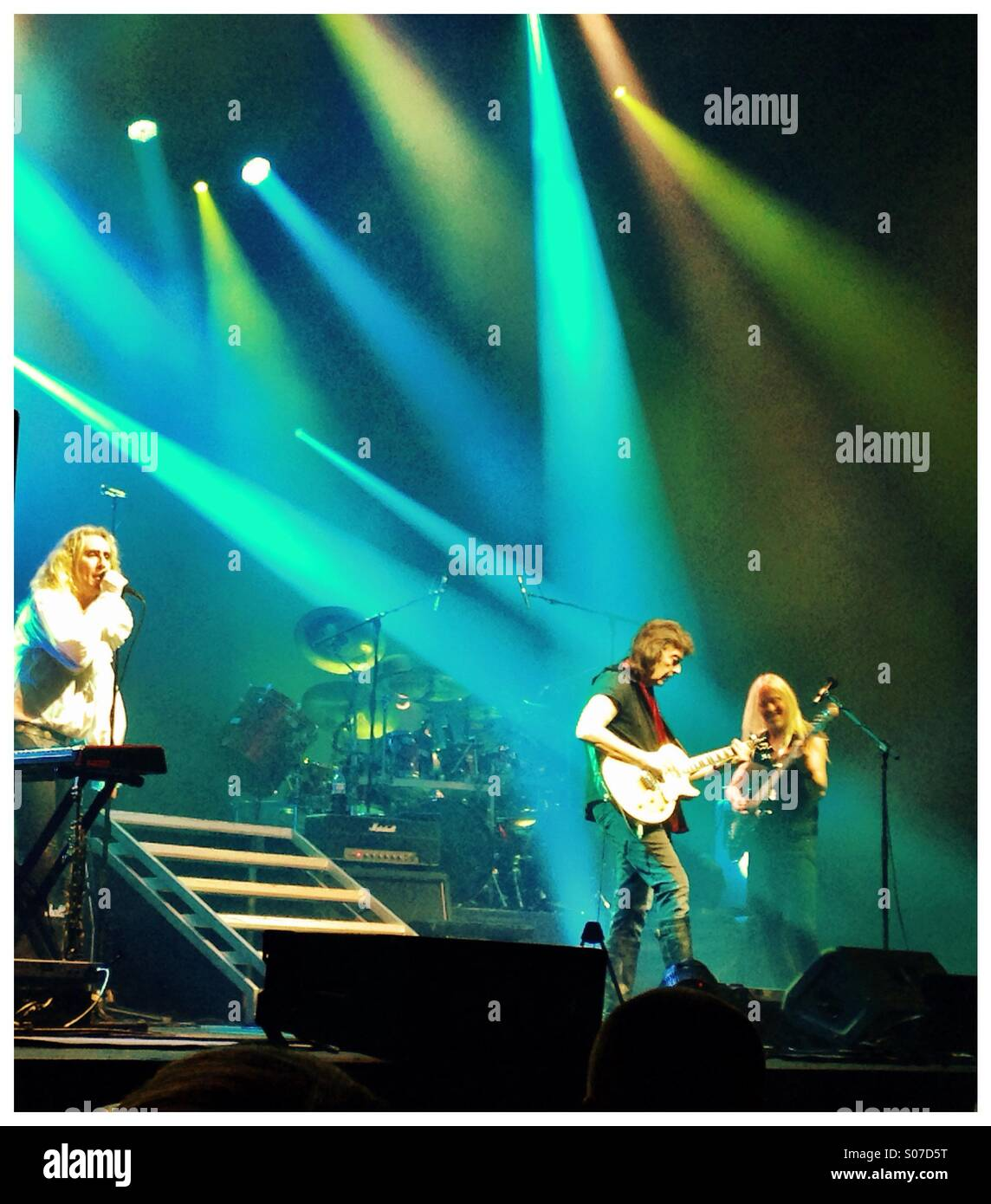 Steve Hackett and band - Stock Image