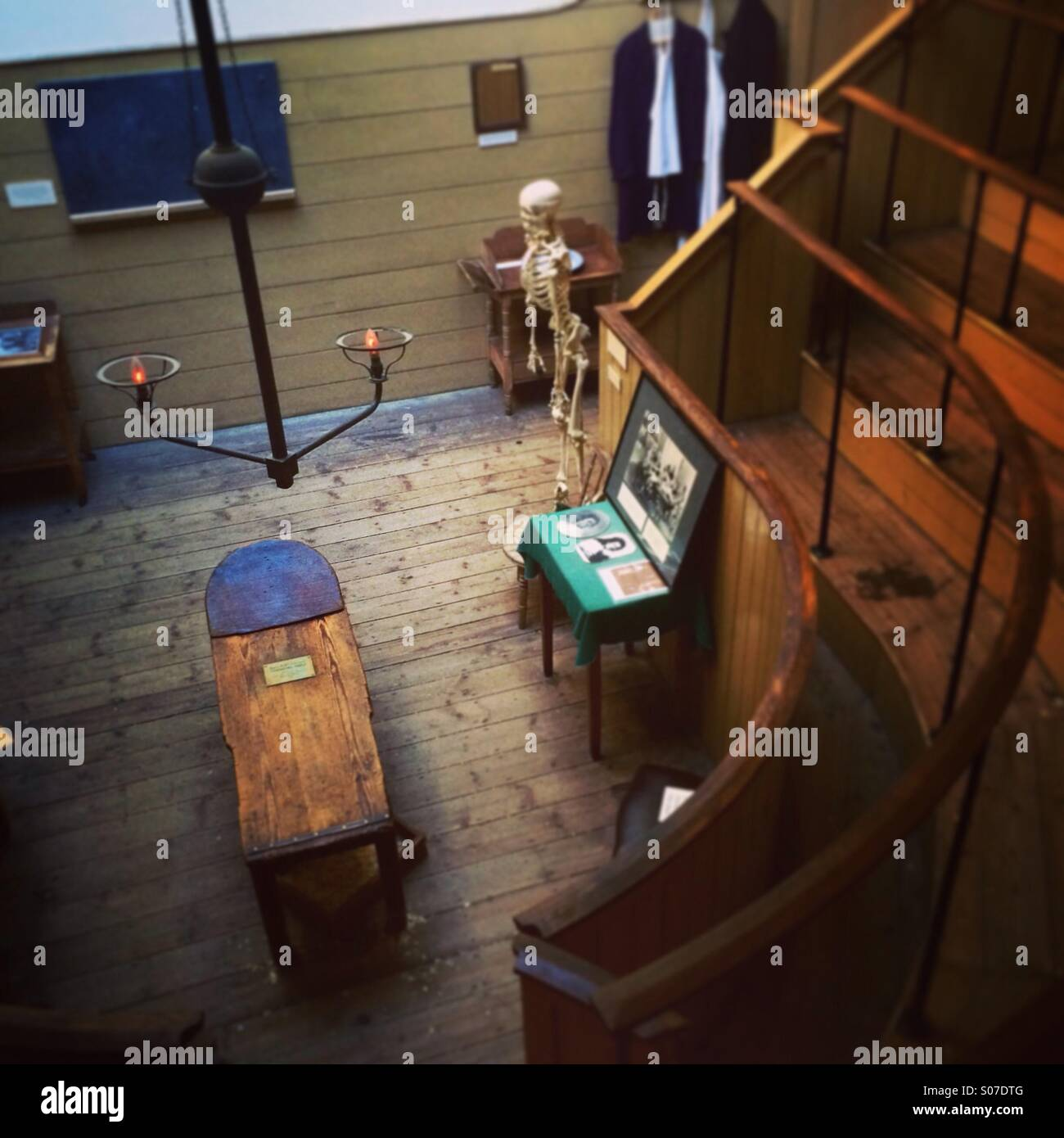 The Old Operating Theatre Museum in London - Stock Image
