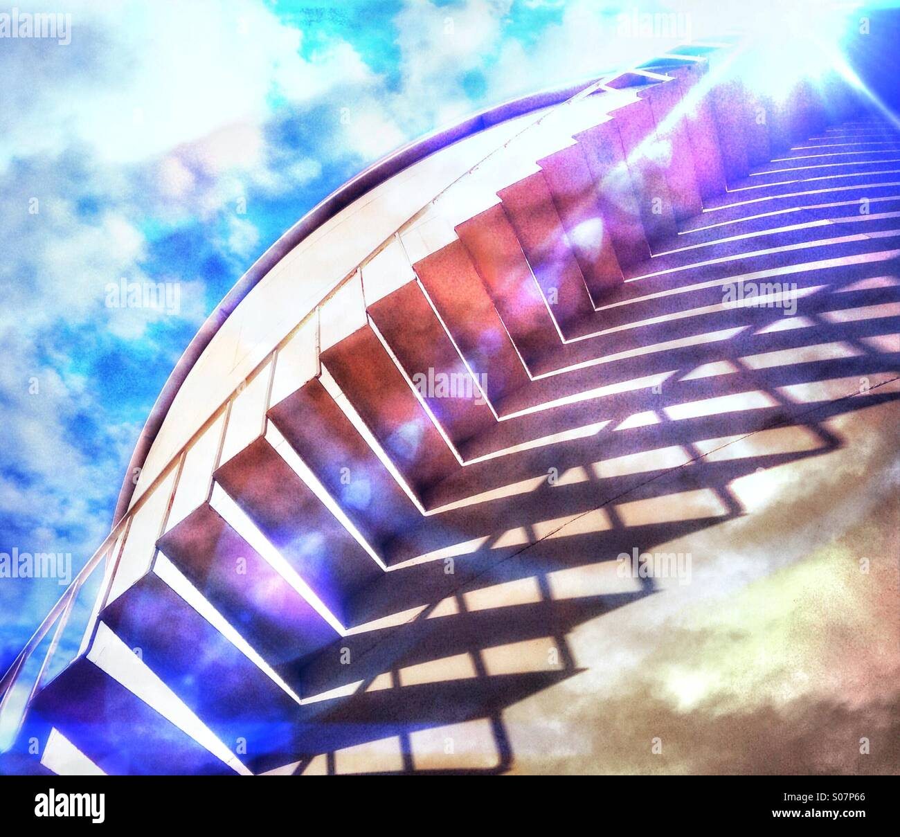 Stairway To Heaven - Stock Image