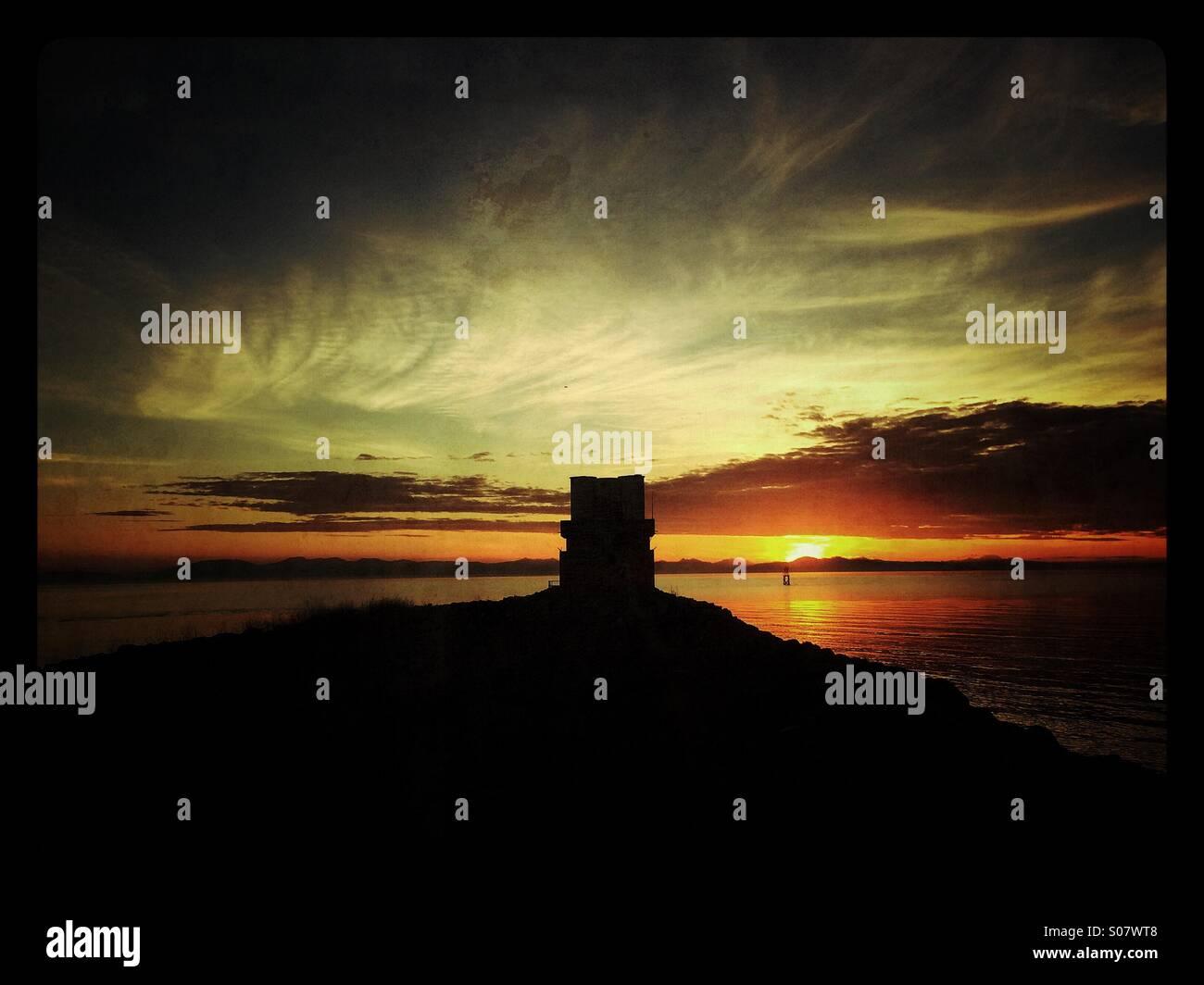 Iona beach - Stock Image
