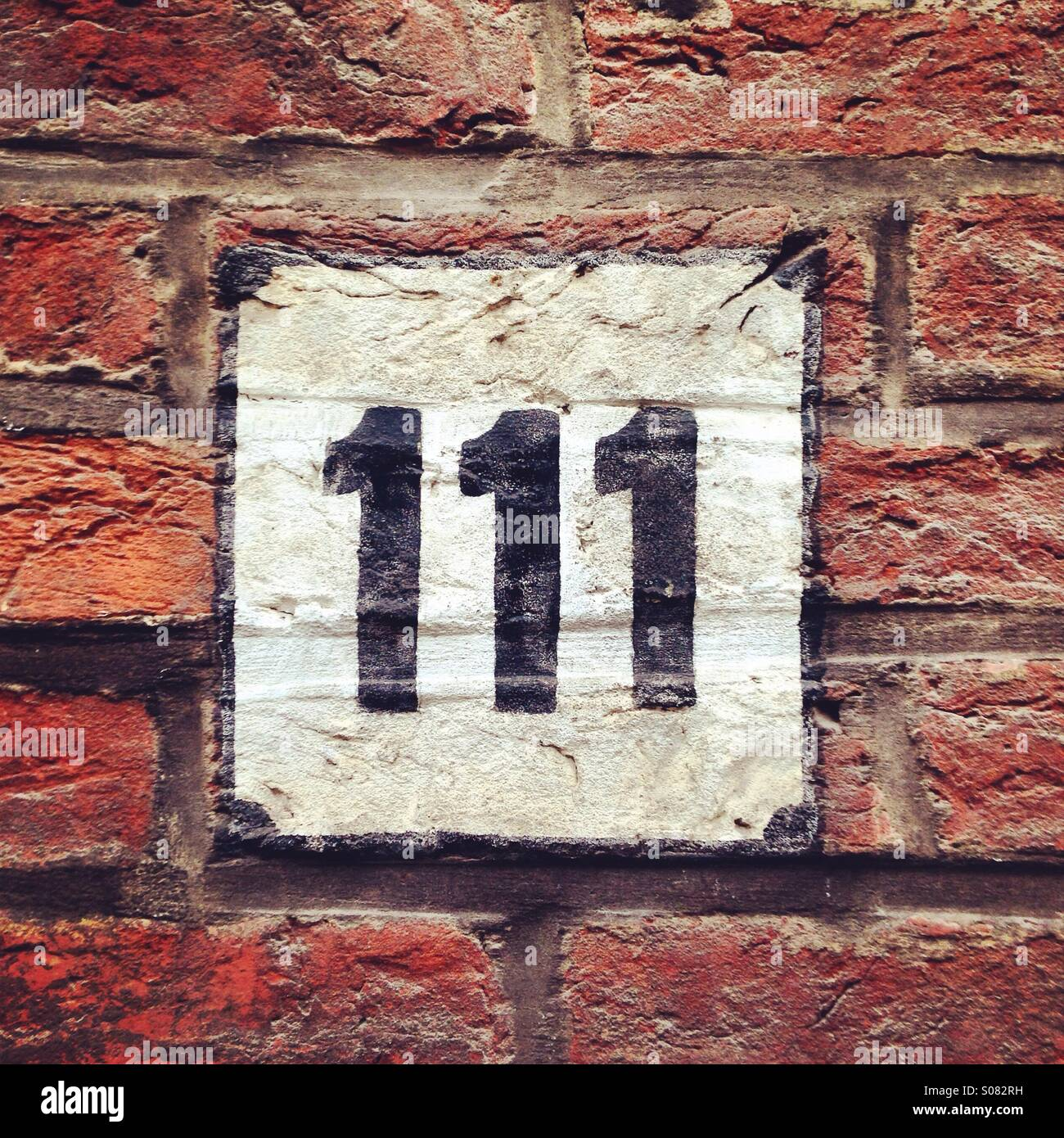 Number 111 - Stock Image