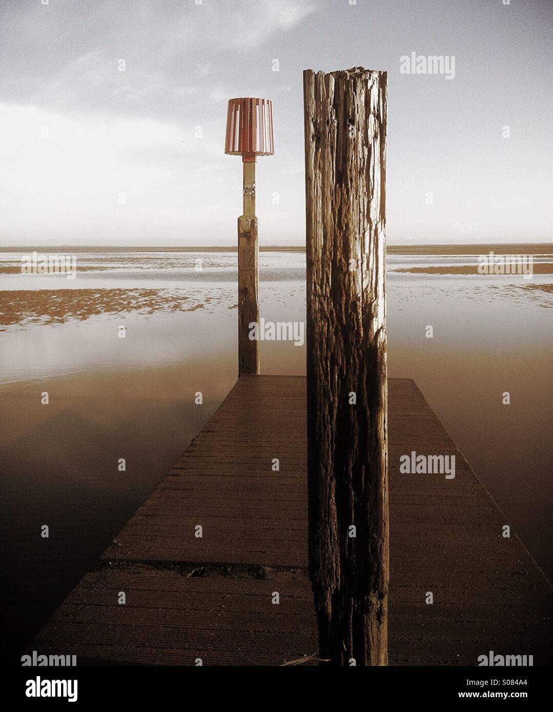 Boardwalk - Stock Image