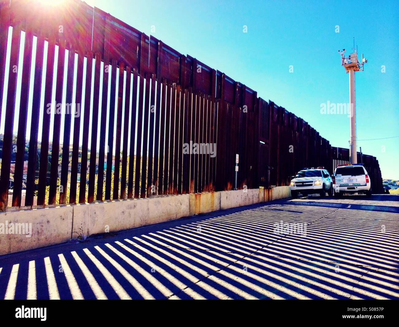 Border Patrol - Stock Image