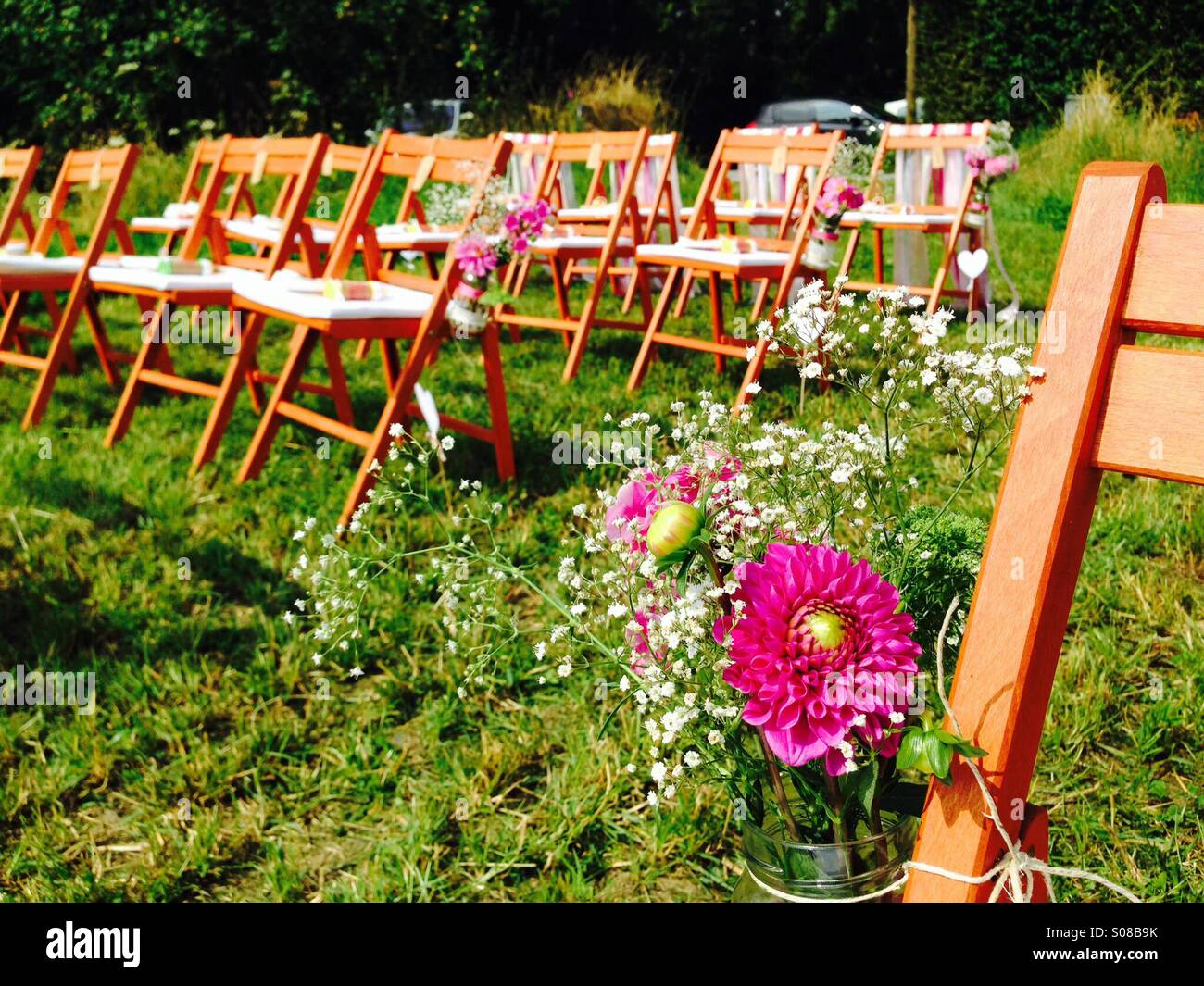 Waiting for the wedding - Stock Image