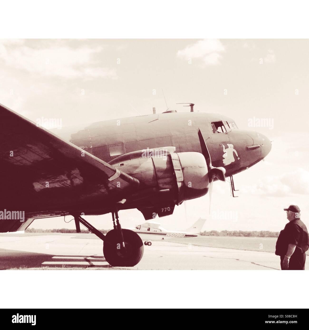 Antique Aircraft Stock Photos & Antique Aircraft Stock