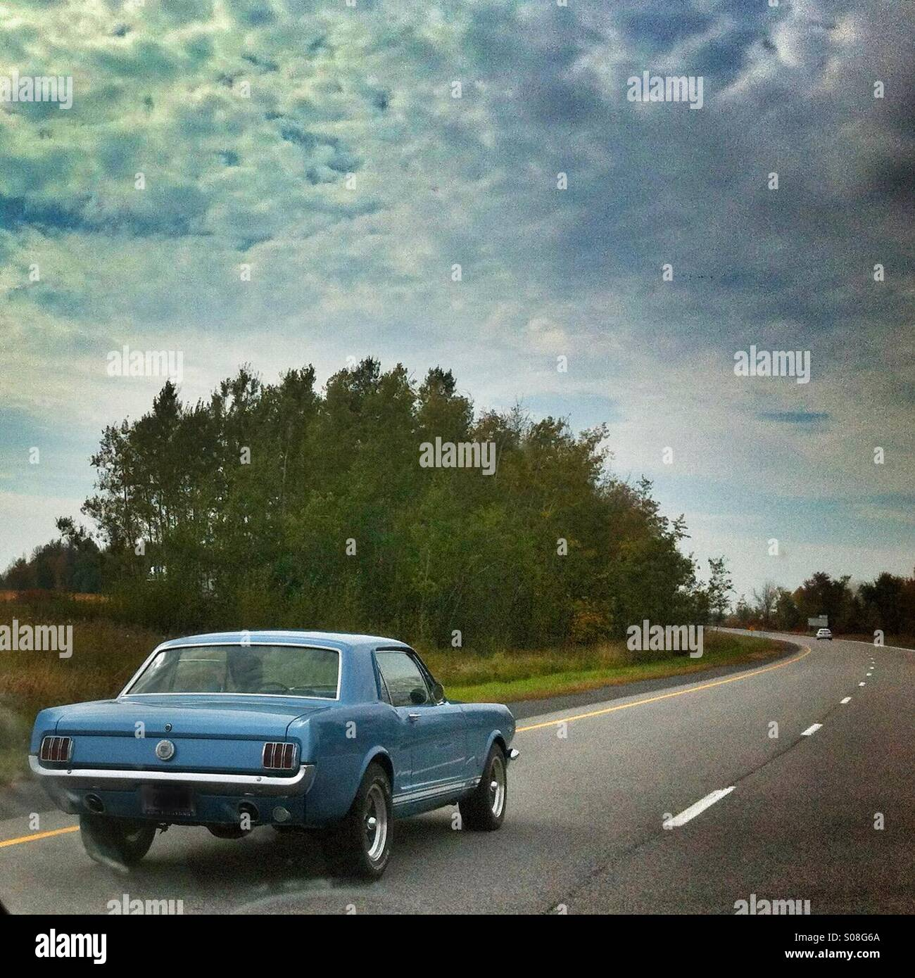 60s Ford Mustang - Stock Image