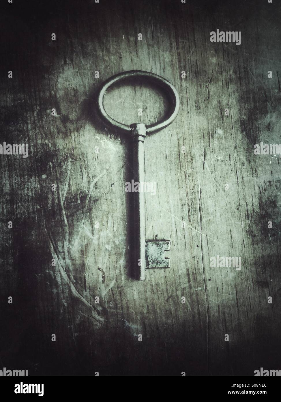 Old key - Stock Image