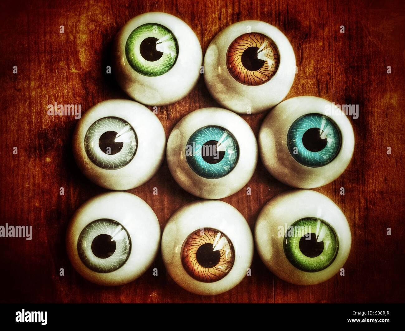 Eyes watching - Stock Image