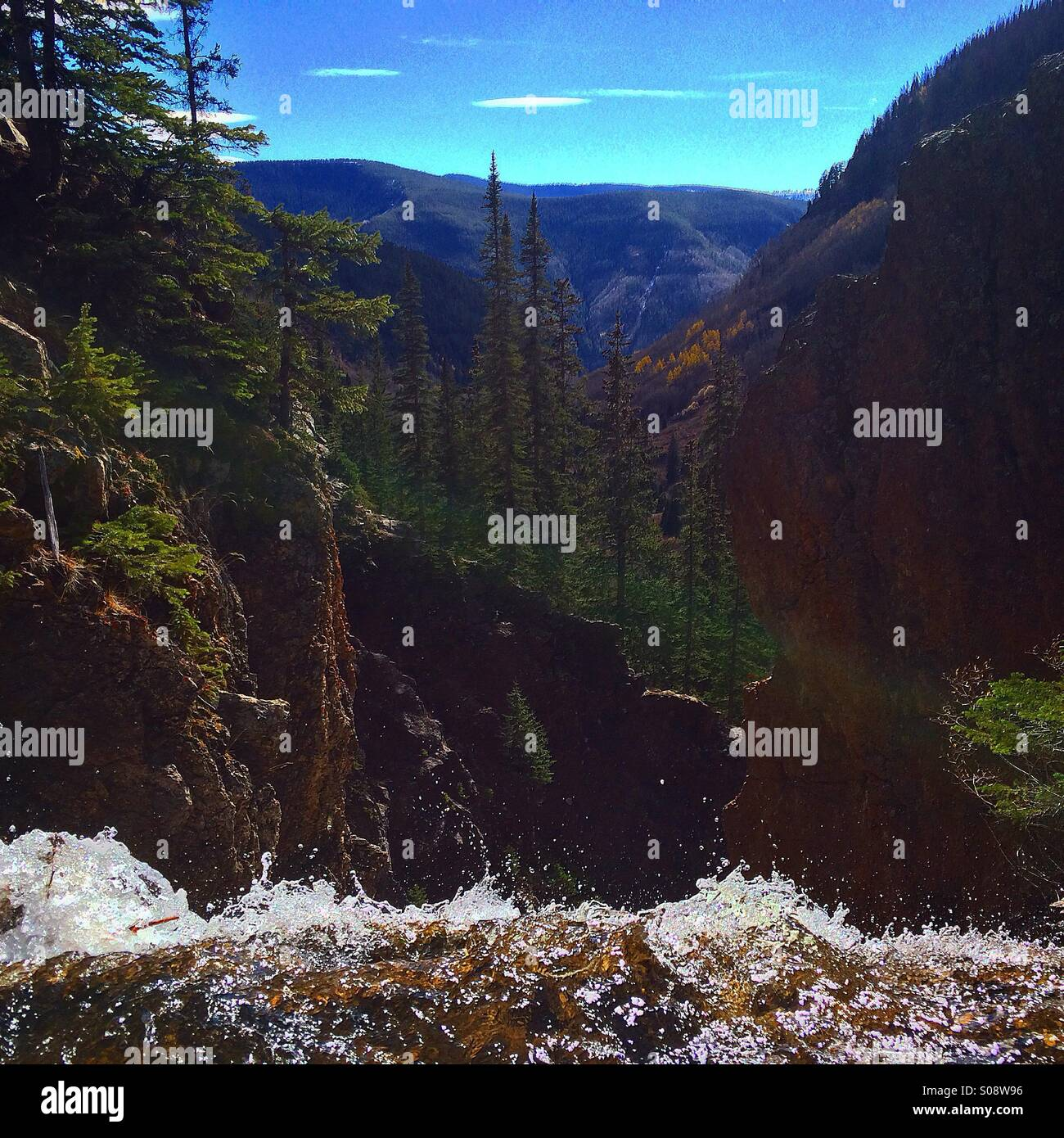 101 Of The Most Beautiful Hikes In Colorado: Colorado Waterfall Waterfalls Stock Photos & Colorado