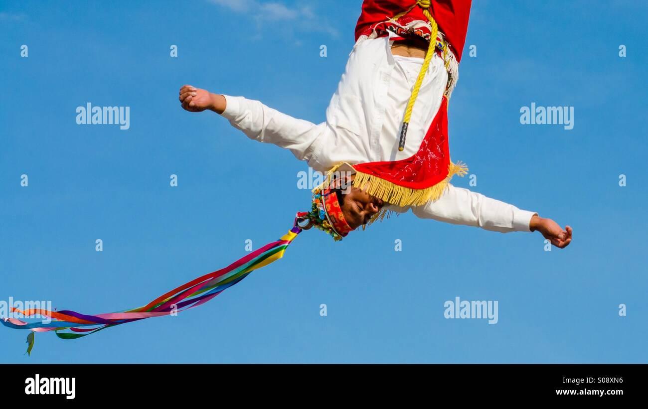 Volador de papantla - Stock Image