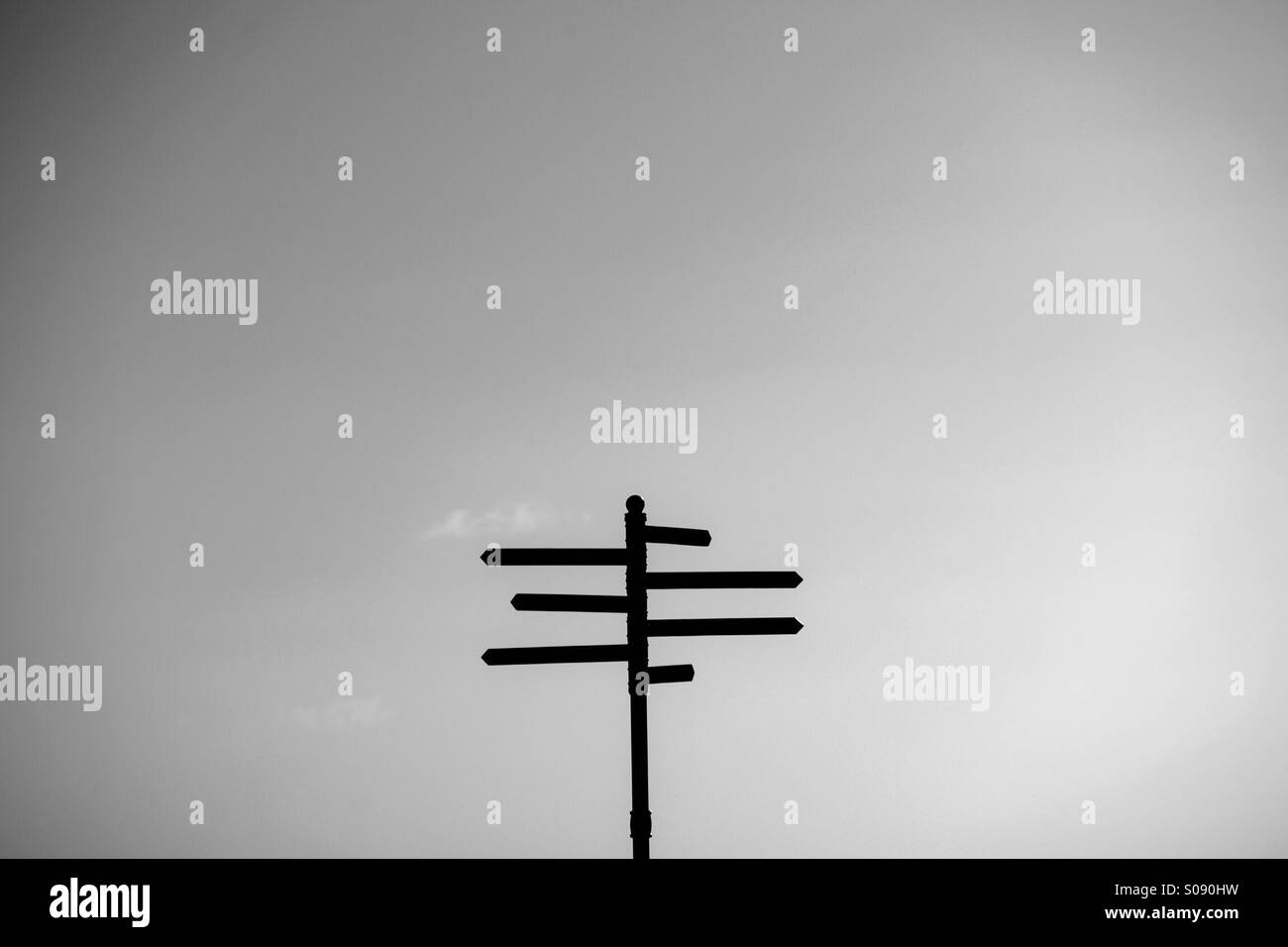 Directions - Stock Image