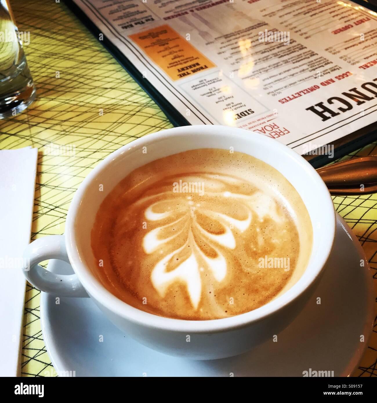 28acc60b3e4 Cup French Coffee Fancy Foam Stock Photos & Cup French Coffee Fancy ...