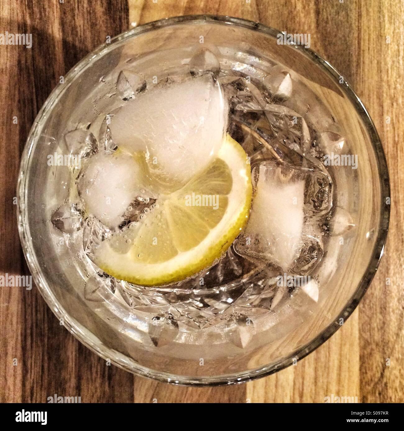 Gin & tonic - Stock Image