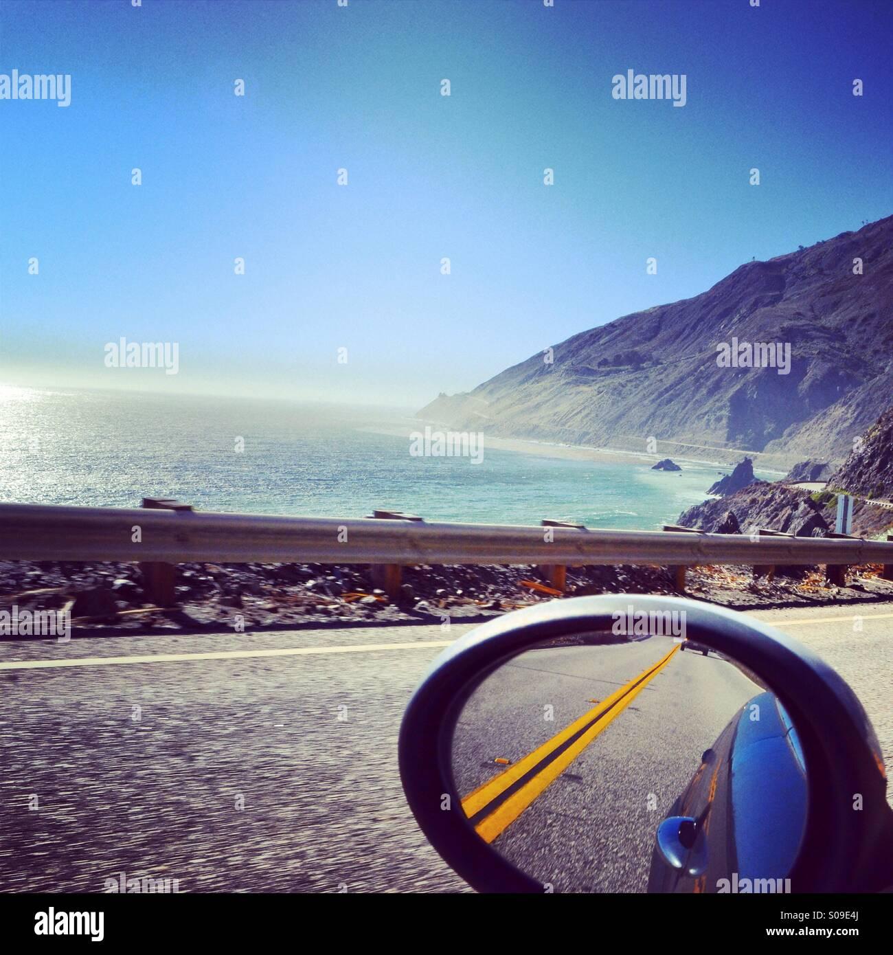 PCH through Big Sur - Road Trip - Stock Image