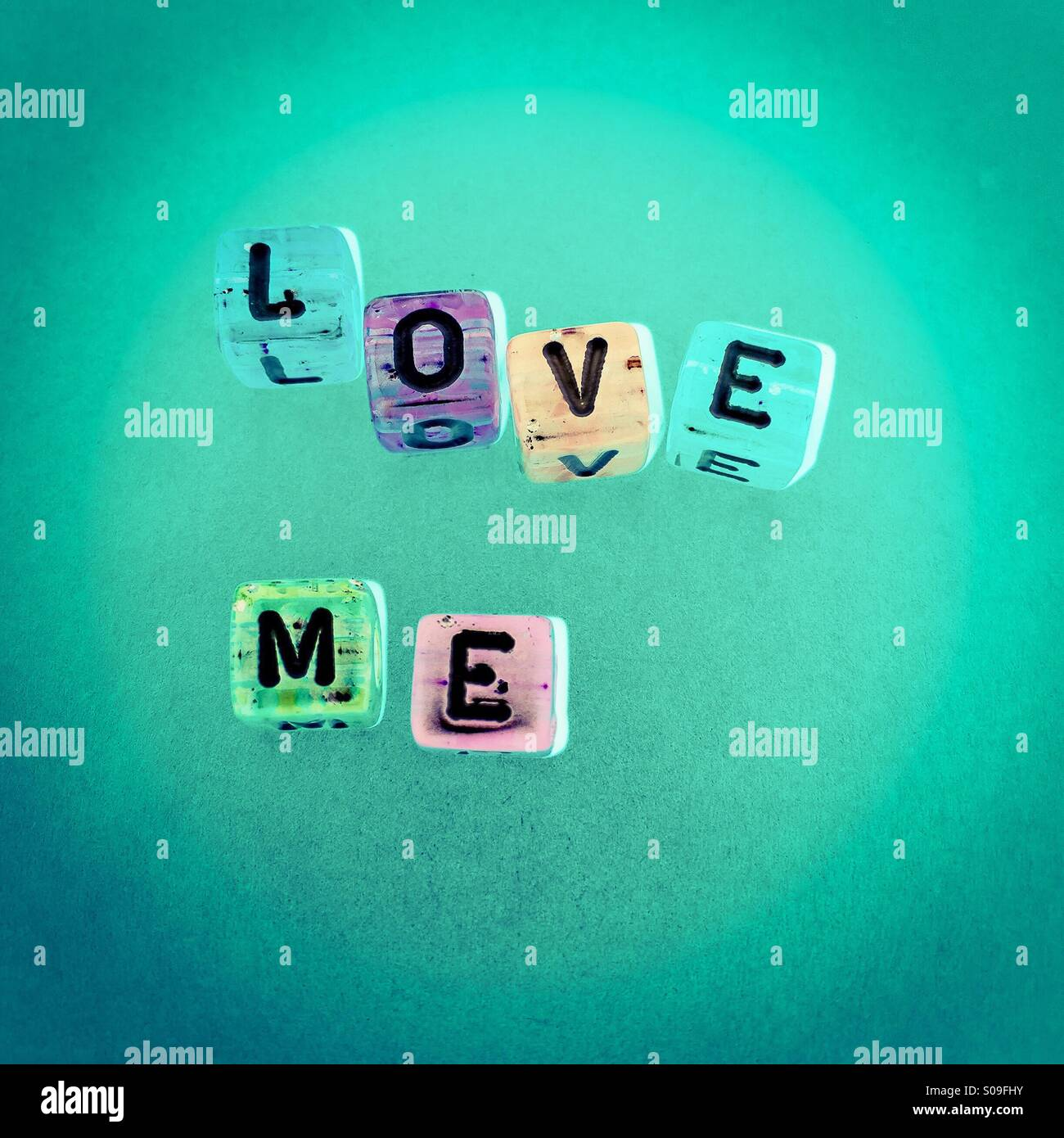 Love me - Stock Image