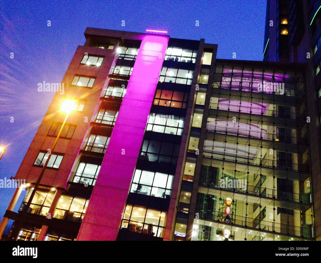 Offices at Bridgewater Place,leeds,Northern England - Stock Image