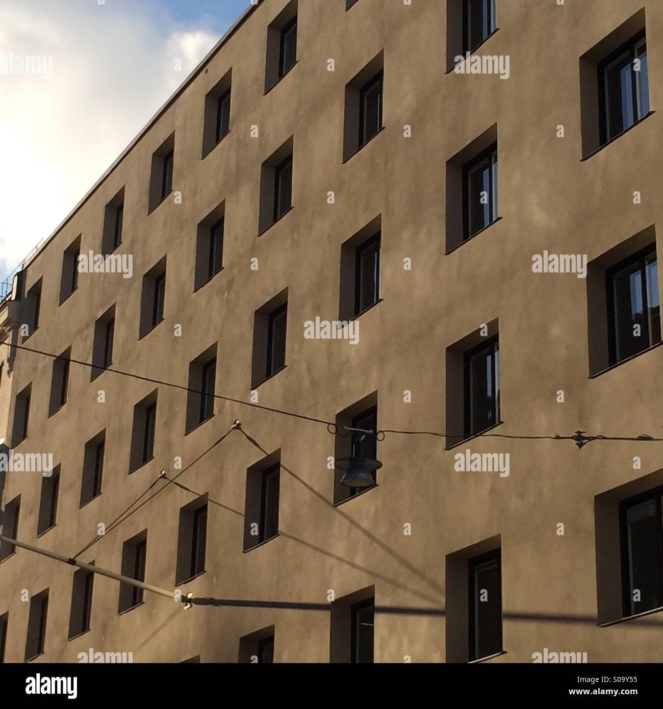 Depressive building. - Stock Image