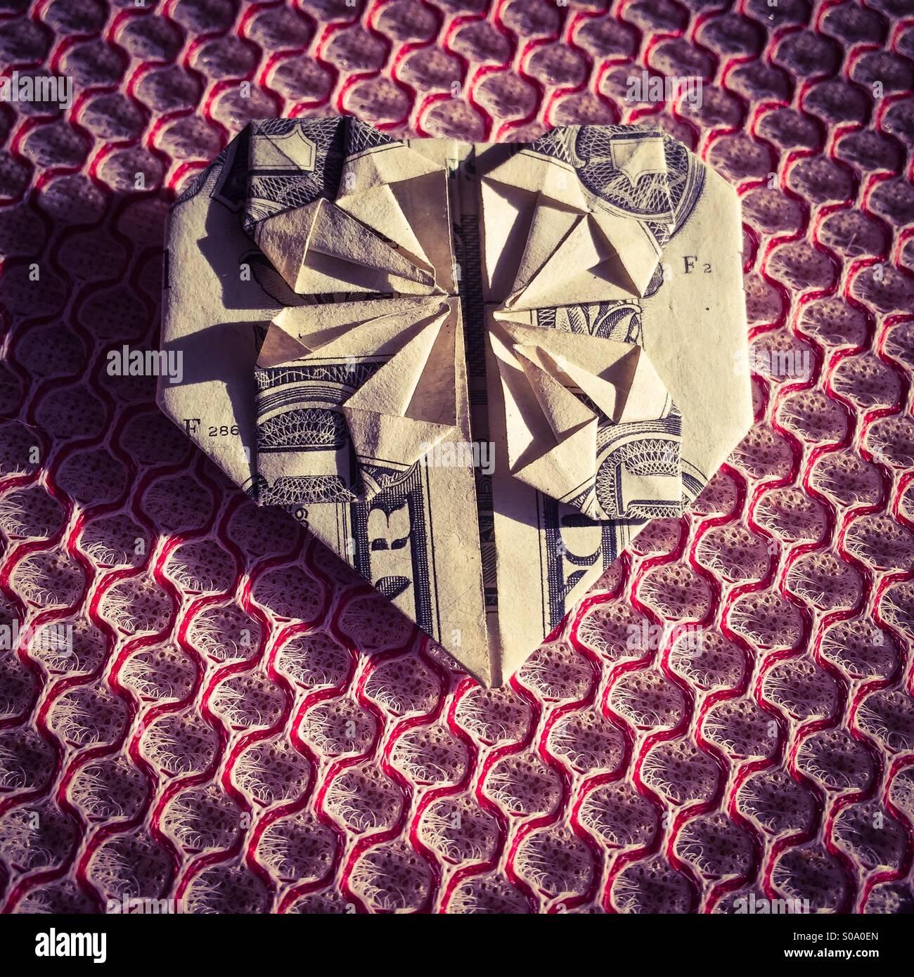Dollar Heart Stock Photos & Dollar Heart Stock Images - Alamy - photo#49