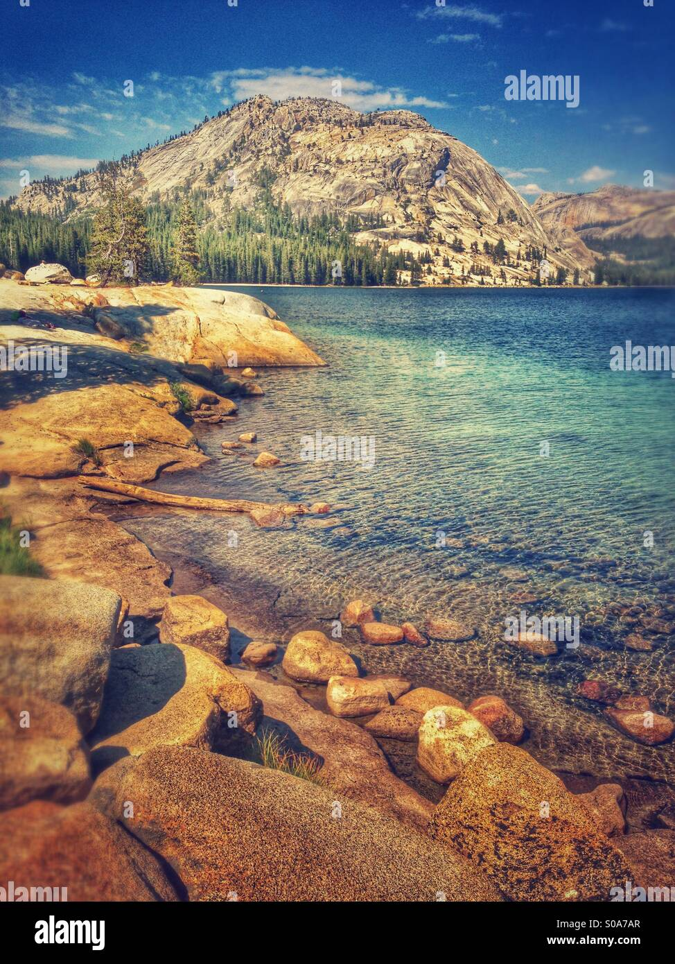 Mountain Lake. - Stock Image