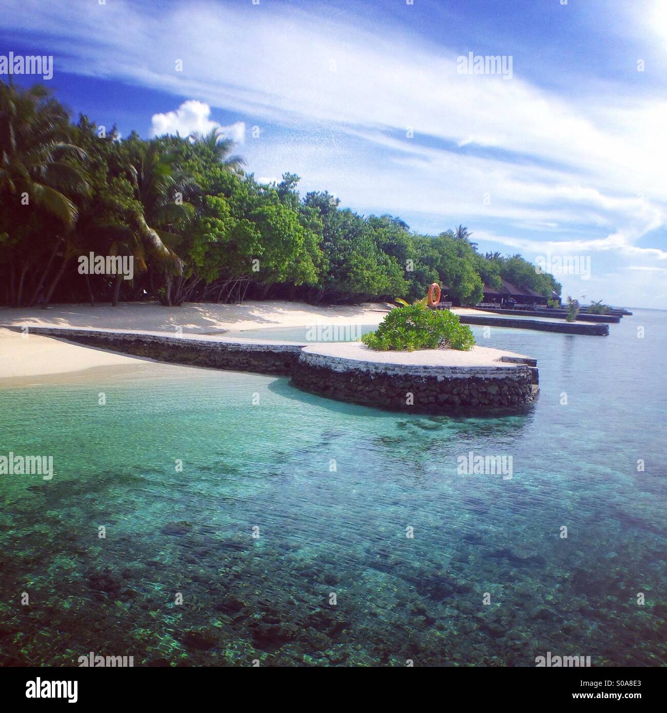 Maldives - Stock Image