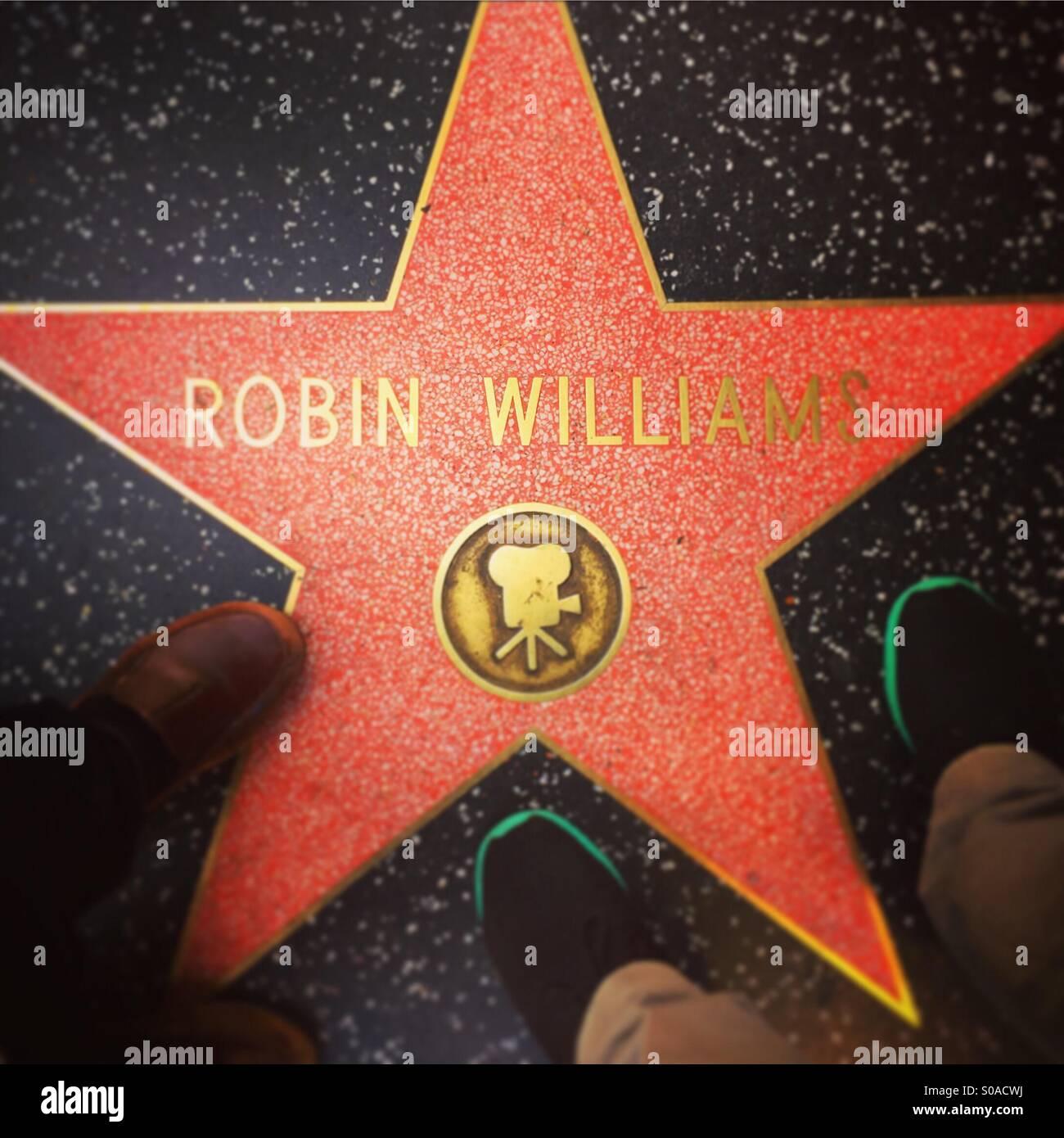 Good night sweet prince. Robin Williams RIP. - Stock Image