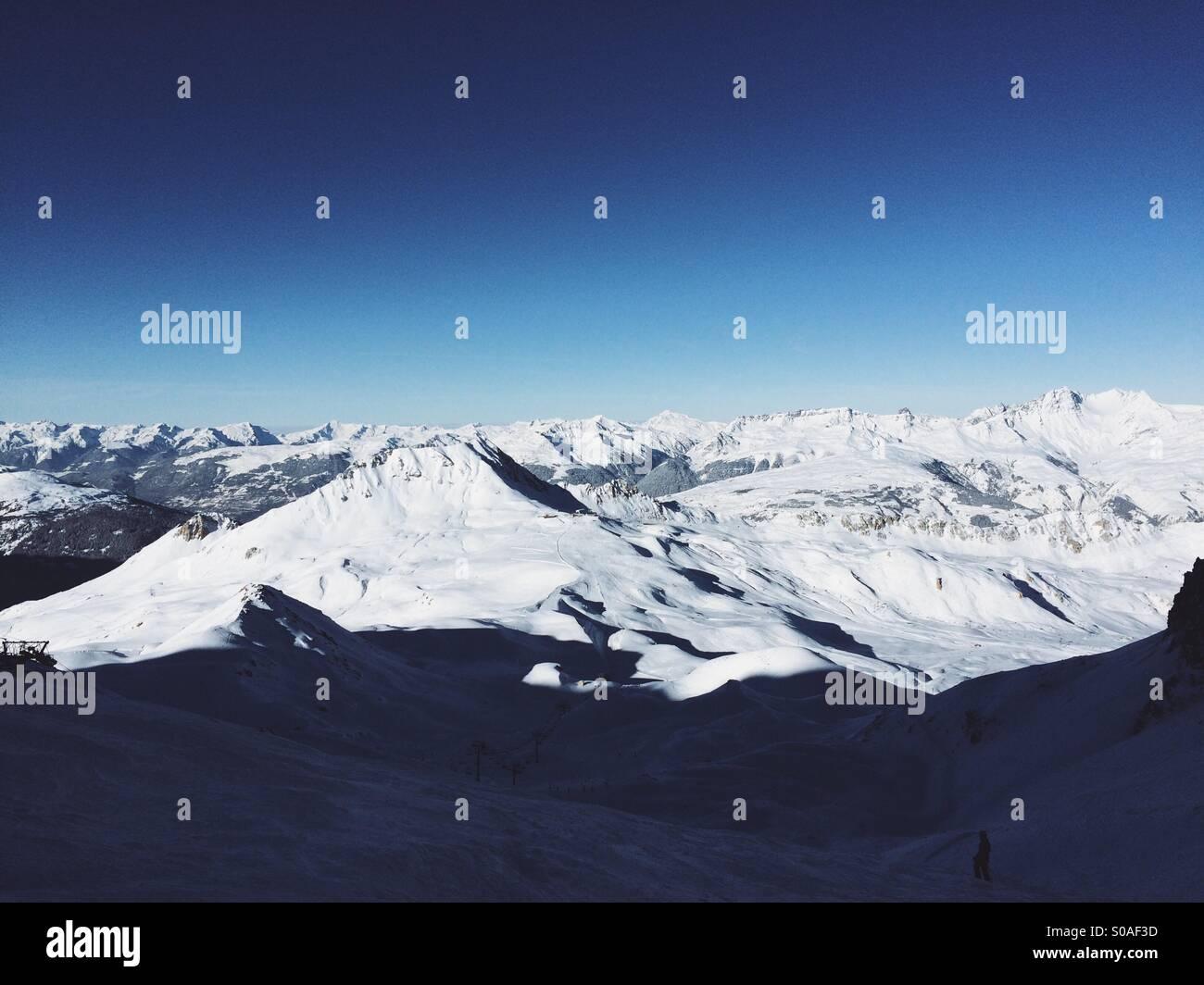 Epic Mountains - Stock Image