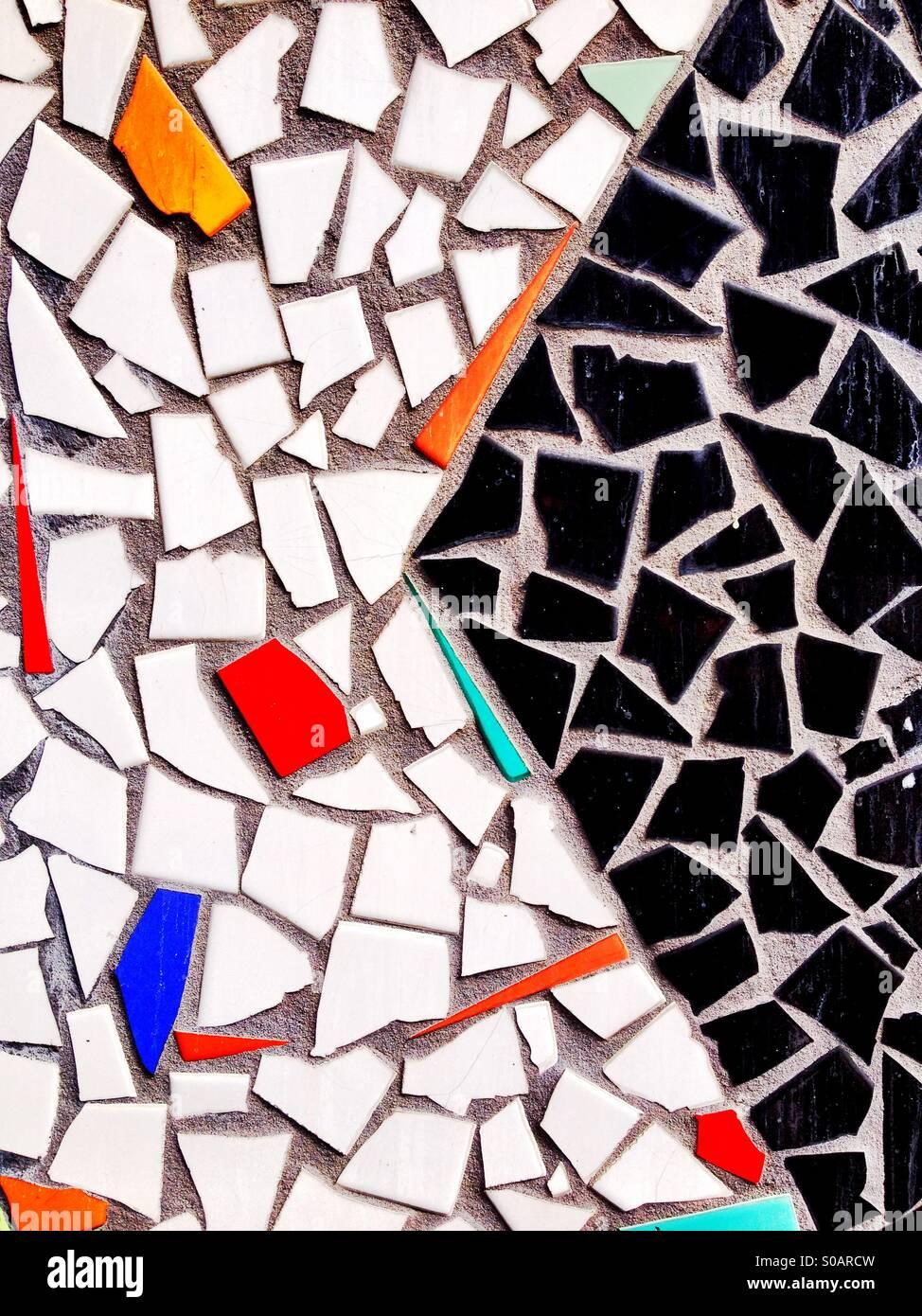 Mosaic Tile Design - Stock Image