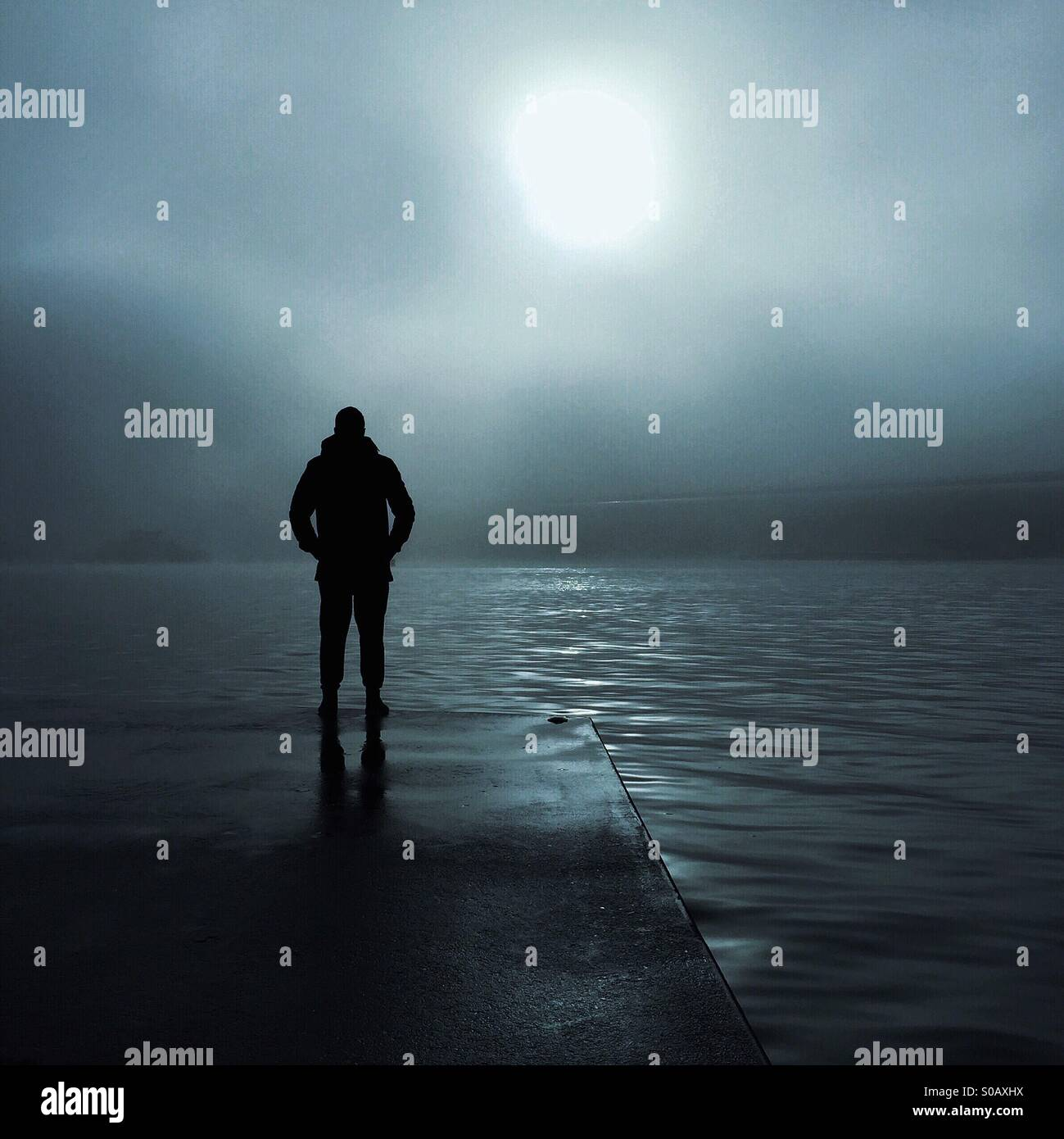 Night Watch - Stock Image