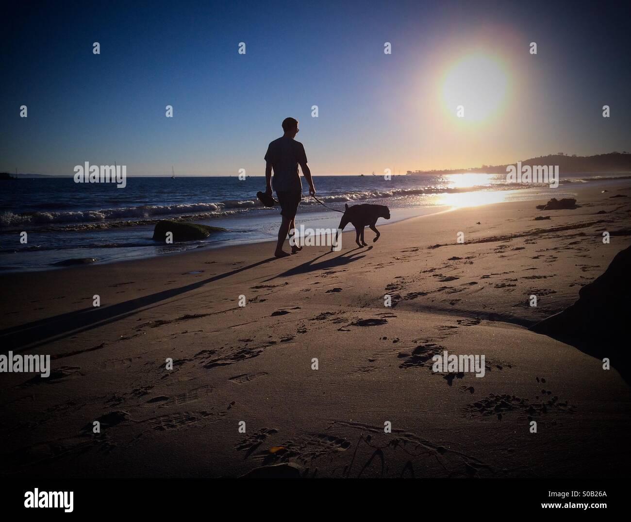 Dog Beach Near Santa Barbara Ca