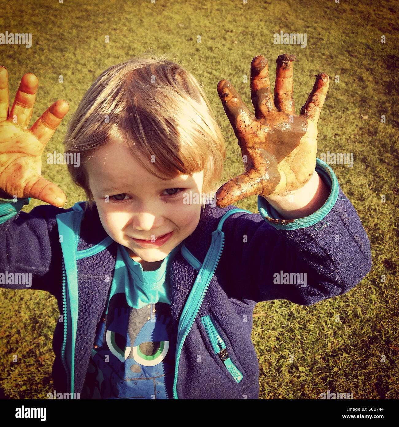 Glorious Mud - Stock Image