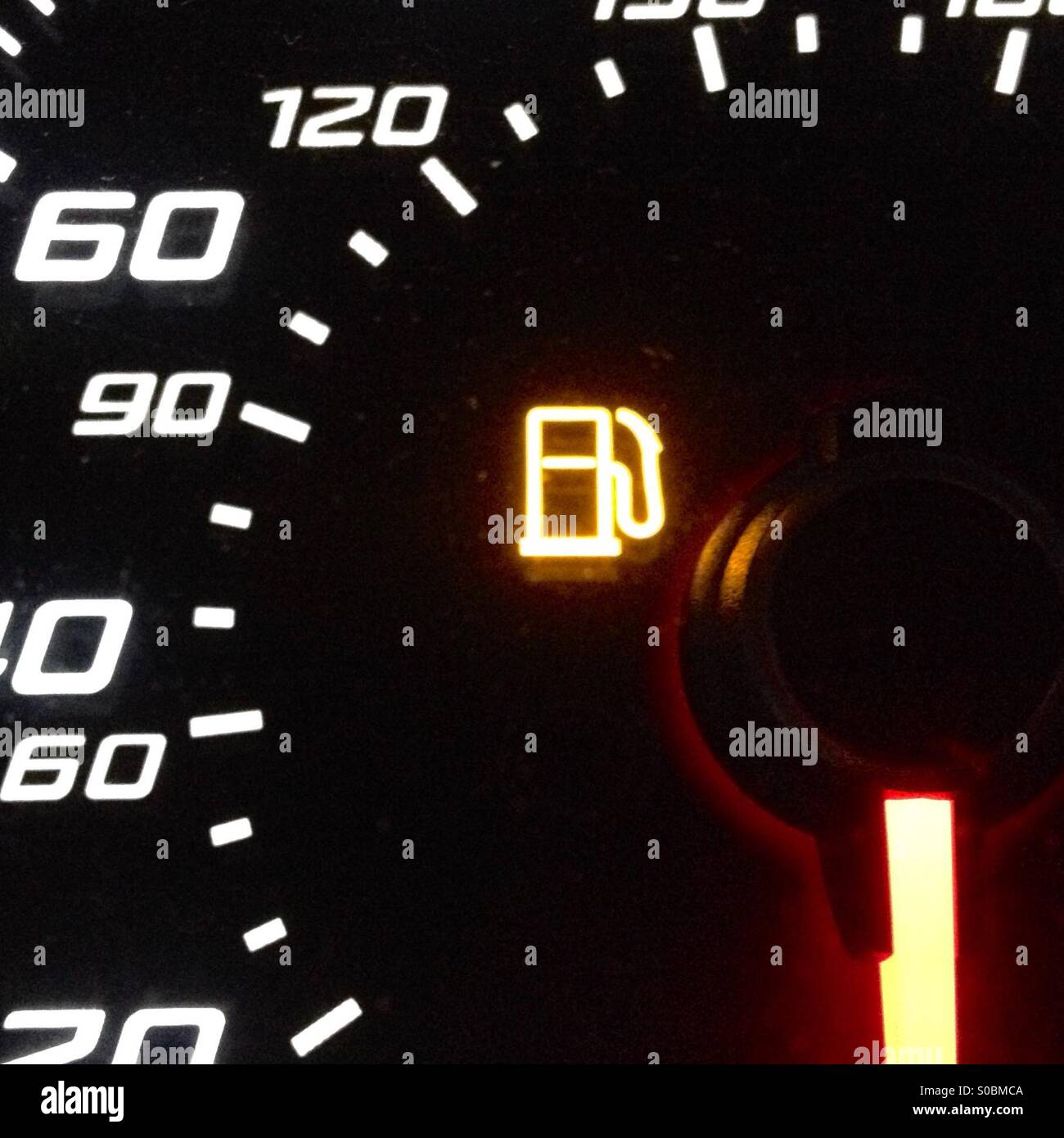Low fuel warning light - Stock Image  sc 1 st  Alamy & Gas Gauge Light Stock Photos u0026 Gas Gauge Light Stock Images - Alamy