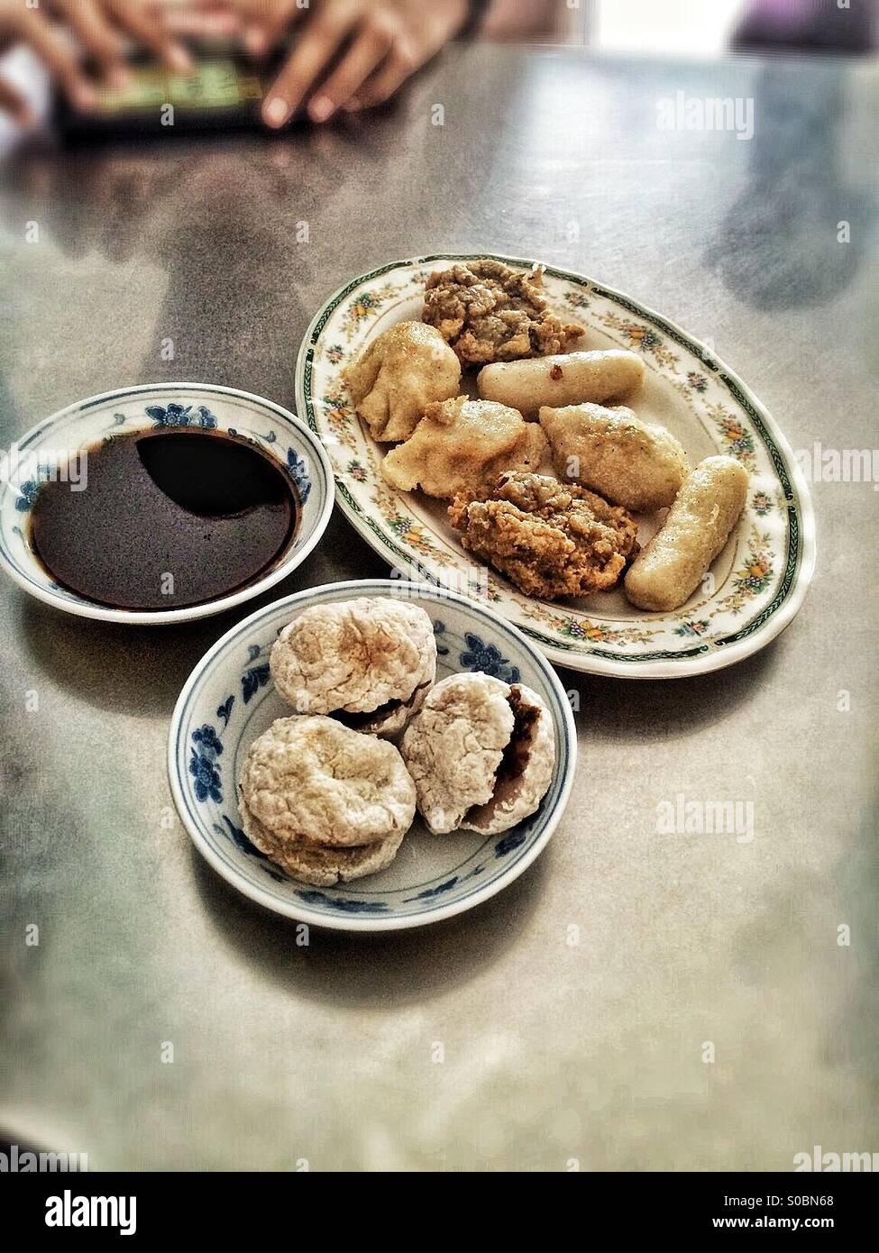 Signature dish from Palembang - Stock Image