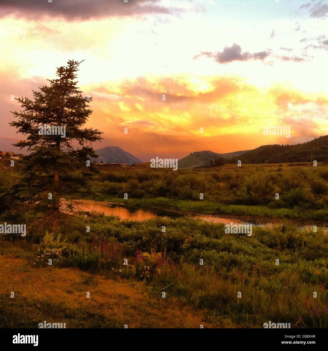 Crested Butte, Colorado - Stock Image