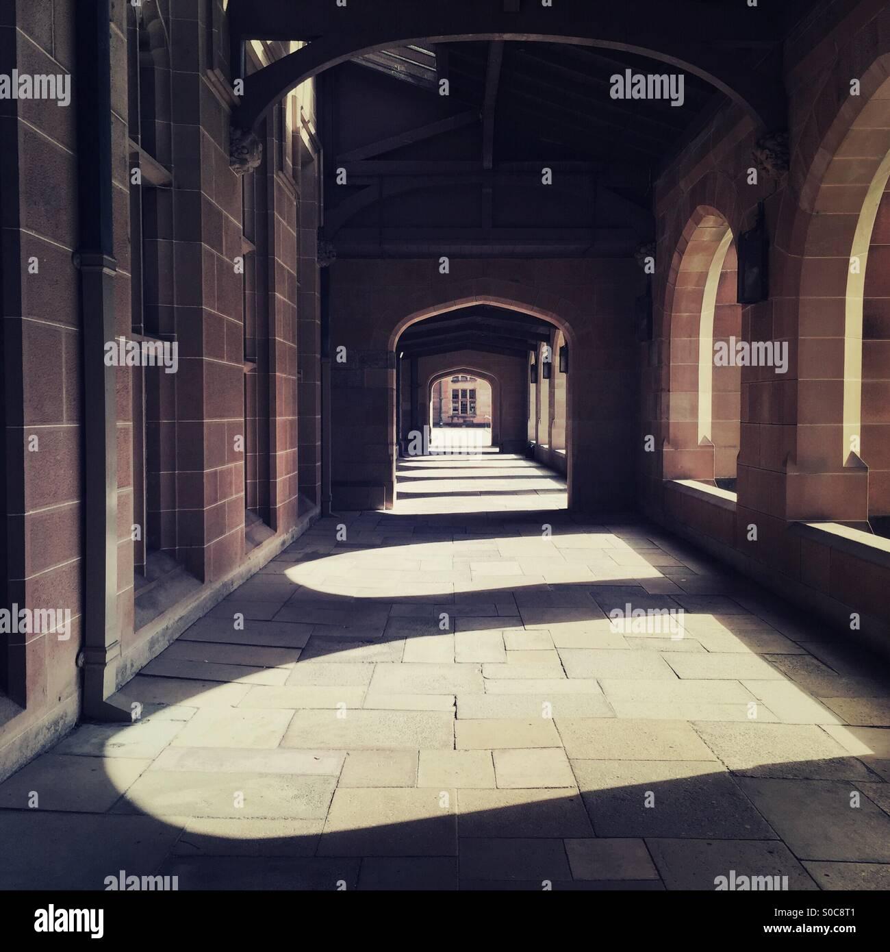 Quadrangle  Sydney University - Stock Image