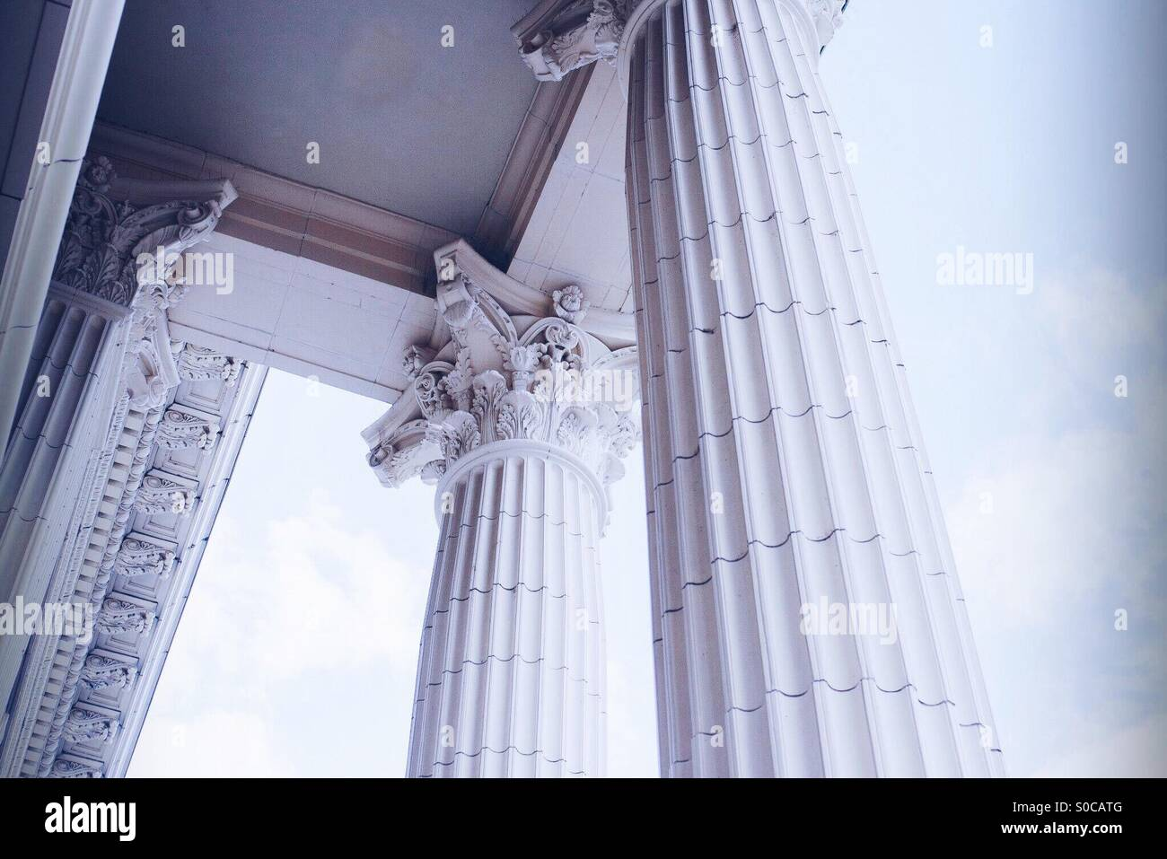 Pillars - Stock Image