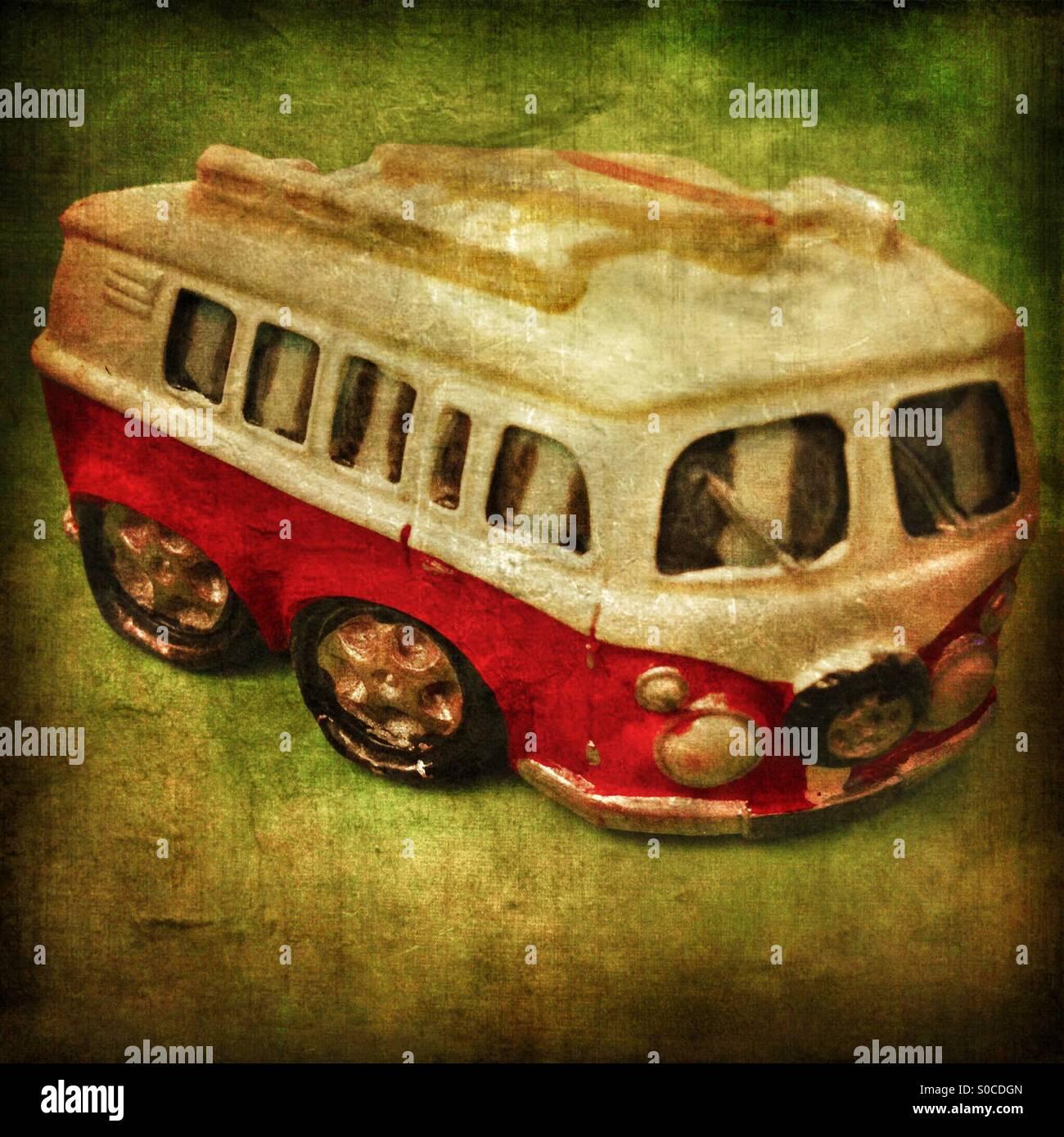 VW van fridge magnet - Stock Image