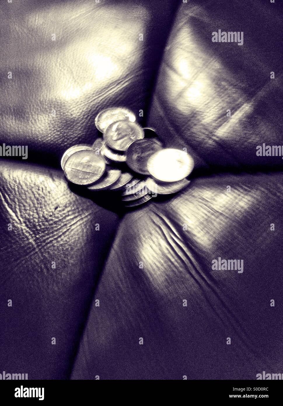 Dimes - Stock Image