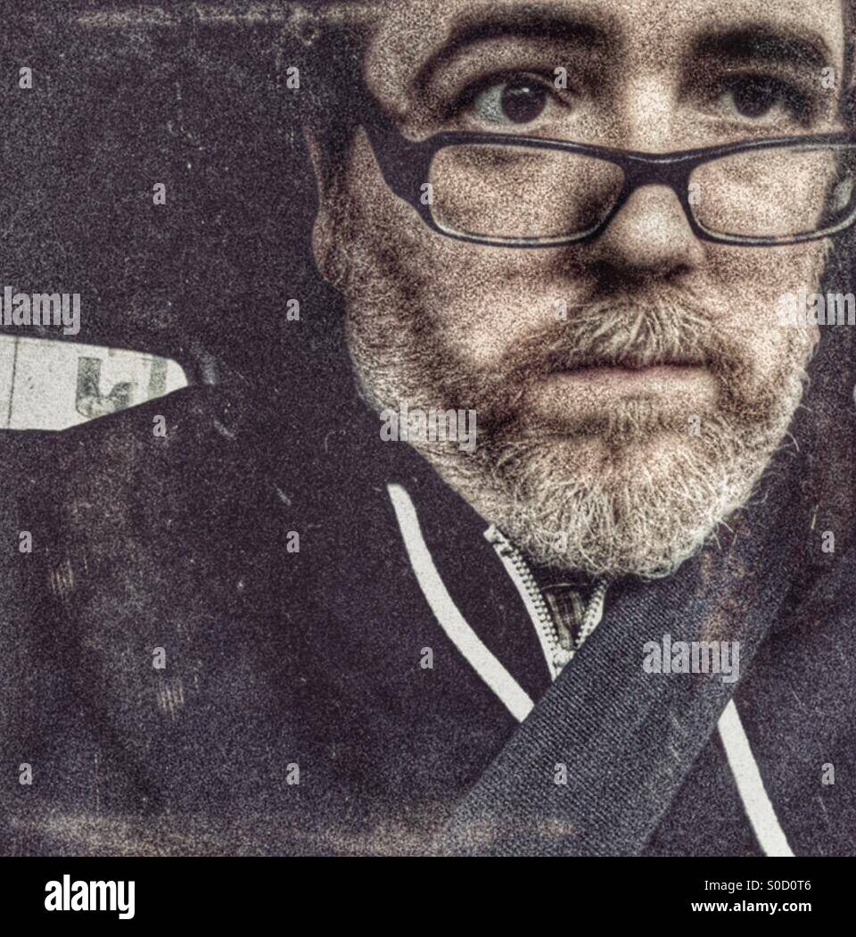 Stressed Driver - Stock Image