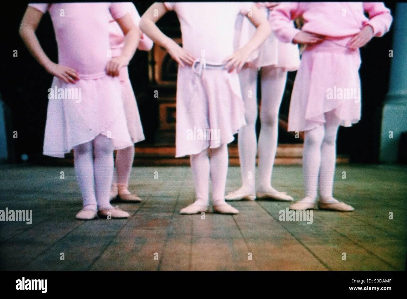 Ballerinas - Stock Image