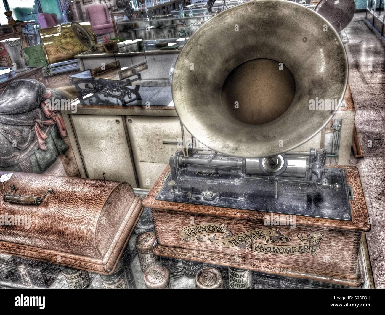 dating edison phonographs