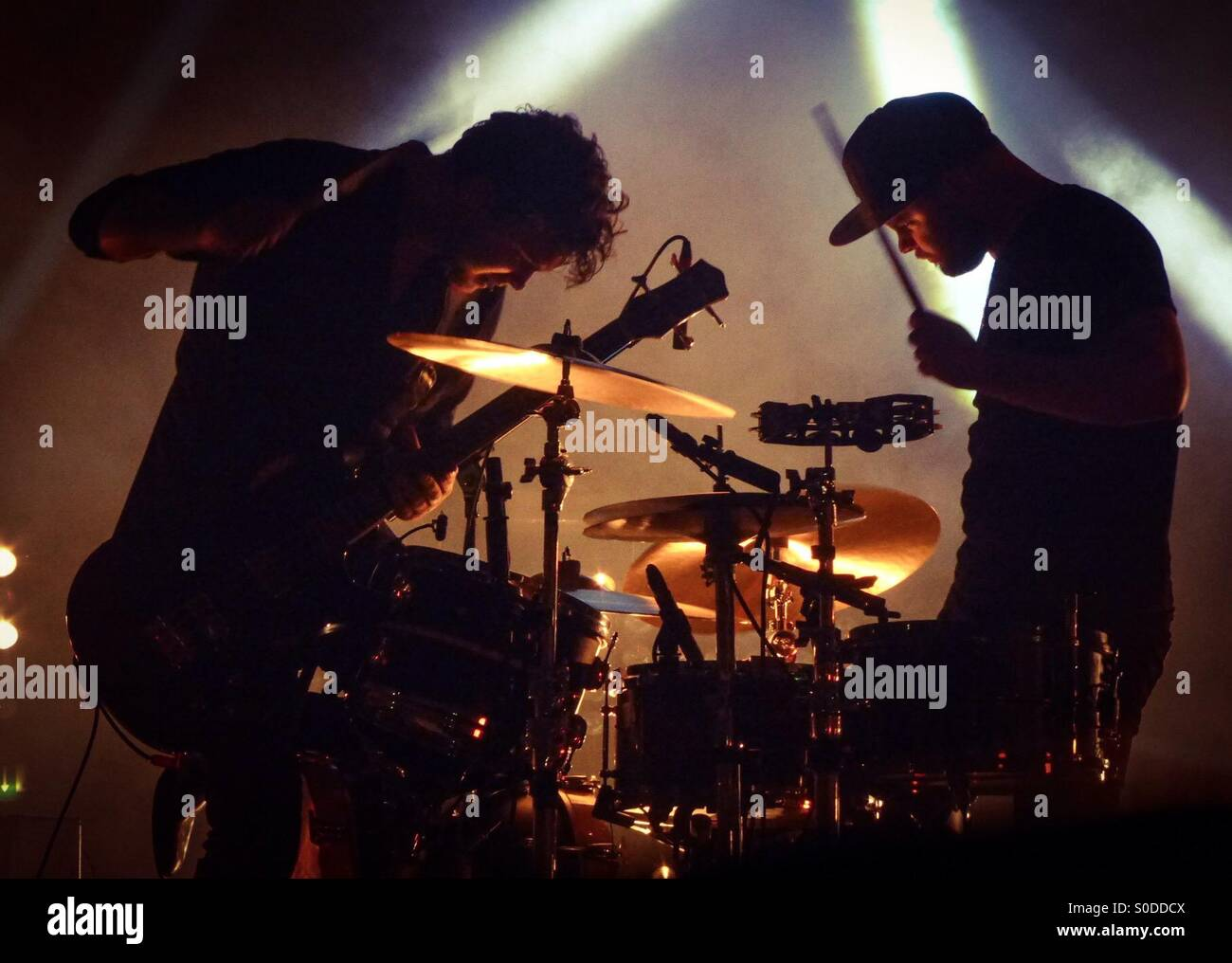 Royal Blood at Brixton Academy 2015 Stock Photo
