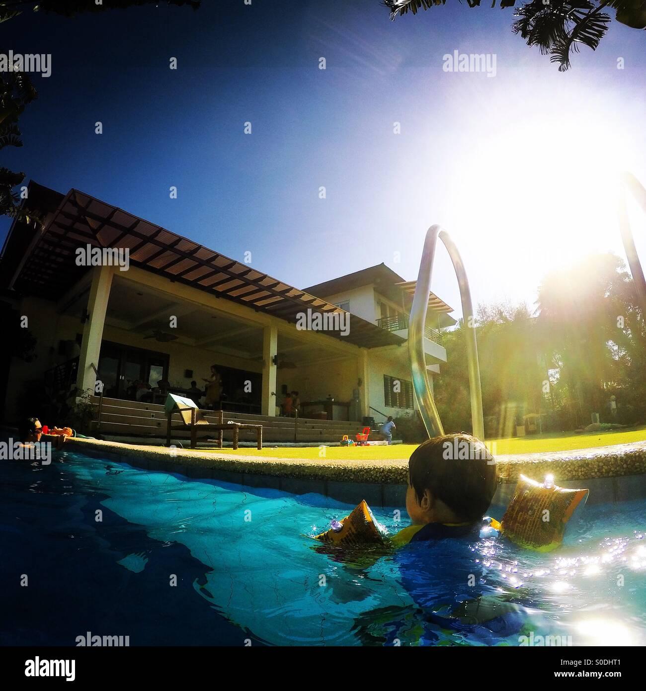 Summer Breeze - Stock Image