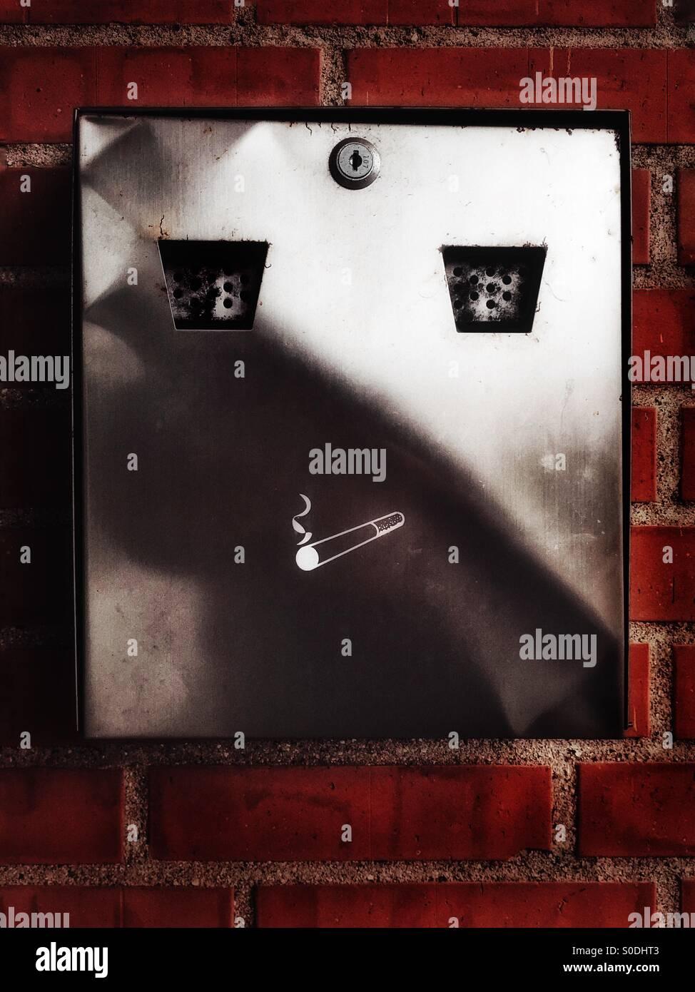 Smokin' - Stock Image