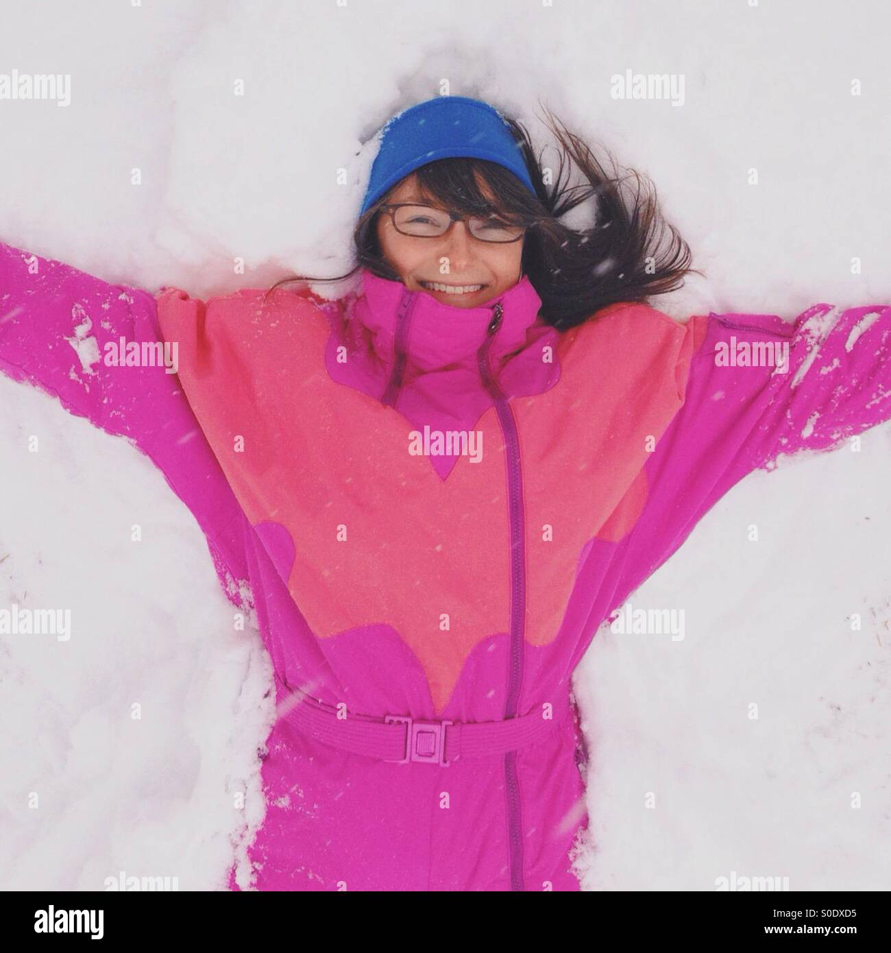 Snow Angel - Stock Image
