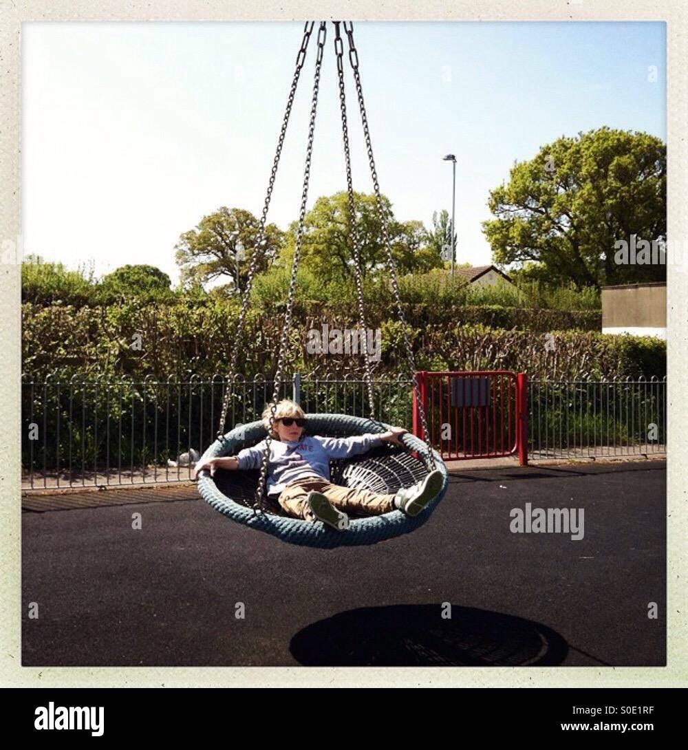 Swinging - Stock Image